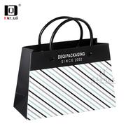 DEQI 手提袋定制纸袋定做包装袋企业广告礼品袋首饰服装购物袋收纳
