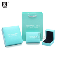 DEQI简约珠宝首饰纸袋包装礼品盒品牌包装盒系列