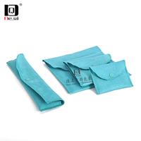 DEQI首饰袋饰品绒布袋抽绳袋小布袋化妆品耳环项链收纳袋束口袋系列定制